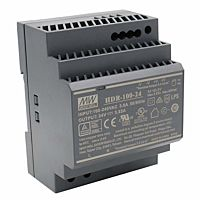 Mean Well HDR-100-24 DIN-Rail Power Supply 100w 24v