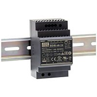 Power supply Din rail 60W 24V, SLIM