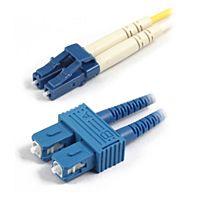 OPTRONICS LCSC-OS1-5M - KUITUKAAPELI DUPLEX LC/SC SM/OS1 5M