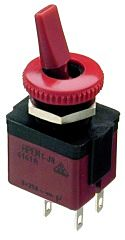 APEM 4141A-26 - 2POLE.ON-OFF RED