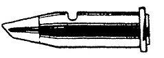 WELLER 51612599 - PYROPEN TERÄ VINOKARTIO 2,0 mm