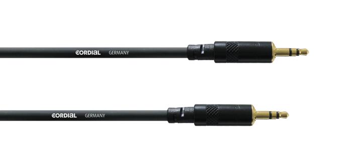 CORDIAL CFS0.9WW - 3.5mm Stereoplugi Uros / Uros 0.9m