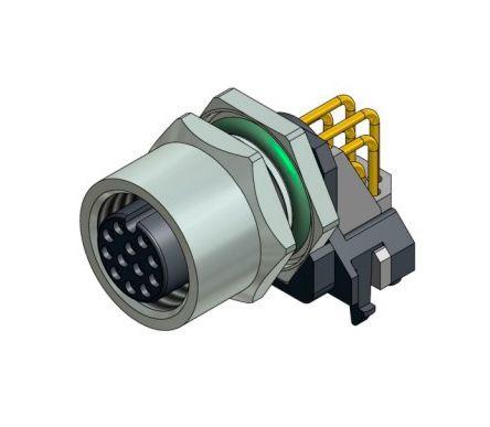 CONEC 43-02742 - M12 female 12pin angle connector