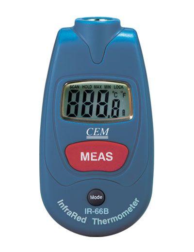 CEM IR-66 - MINI IR-LÄMPÖMITTARI -35...+230°C