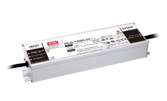 MEAN WELL HLG-150H-12B - LED TEHOLÄHDE 12V 150W