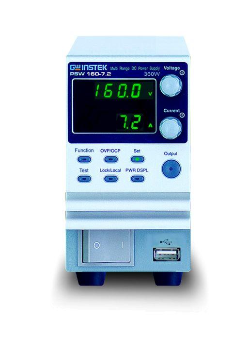 GW Instek PSW250-4.5 - 360W Multi-Range Programmable Switc