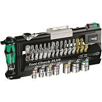 Wera 056490 - Tool-check plus Zyklop mini 39 piece bit ratchet set