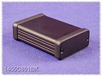 HAMMOND 1455D801BK - ALUMIINIKOTELO 80x45x25mm