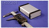 HAMMOND 1455C801 - ALUMIINIKOTELO 80x54x23mm
