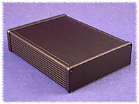 HAMMOND 1455T2201BK - ALUMIINIKOTELO 223x160x51,5mm