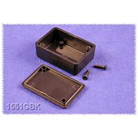 HAMMOND 1551HBK - ABS-Muovikotelo 60x35x17mm MUSTA IP54