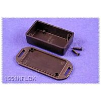 HAMMOND 1551HFLBK - ABS-Plastic enclosure 60x35x20mm BLACK IP54