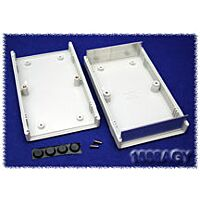HAMMOND 1598AGY - Plastic / Aluminium Instrument Enclosure 154x94x36mm Gray