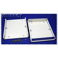 HAMMOND 1598BGY - Plastic / Aluminium Instrument Enclosure 134x135x50mm Gray
