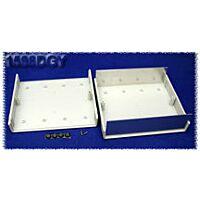 HAMMOND 1598DGY - Plastic / Aluminium Instrument Enclosure 180x206x64mm Gray