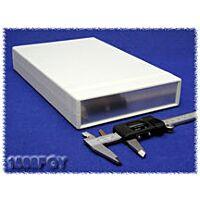 Hammond 1598FGY ABS-Muovi / Alumiini Asennuskotelo 250x160x40mm Harmaa