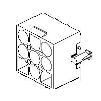 MOLEX 15-31-1046 - Pin and Socket Header 4 pins