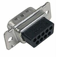 TE 205204-4 - Amplimite Dsub Connector 9 Pin Male Crimp Pin (separately)
