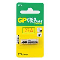 GP BATTERIES 27A-GP - ALKALINE CELL 27A 12V 1PC