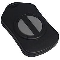 CAMDENBOSS 2955-20R-2 Handheld plastic box 57x35x12mm 2-buttons