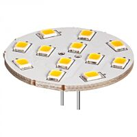 YES LED-G4B-12WVA - WHITE 12XLED G4 BASE
