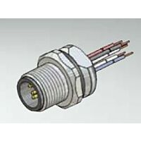 CONEC 43-01010 - M12 5 Pin Male Connector / Panel