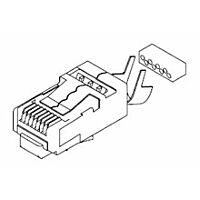MOLEX 449150001 - Long Body Rj-45 Plug Cat 6 shielded