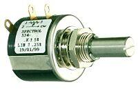 SPECTROL 534-50K - PRECISION POTENTIOMETER. 10-TURN