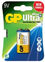 GP BATTERIES 6LF22 ULTRA PLUS - Alkaliparisto 6LF22 9V ULTRA PLUS