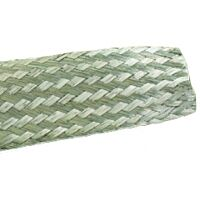 ALPHA 2166 - BRAIDED SLEEVING 3.18mm 30.5m T.C.