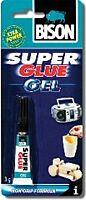 BISON SUPER GLUE GEL - Geelipikaliima G5, 3 g