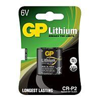 GP BATTERIES CRP2-GP - Litium-fotoparisto 6V