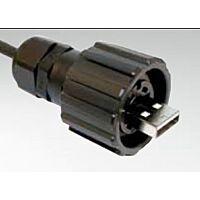 CONEC 17-200121 - USB KAAPELI PLUG IP67 BAYONET