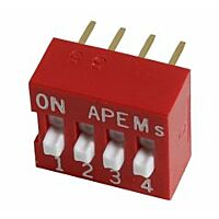 APEM DS-04 - DIP-SWITCH 4POLE