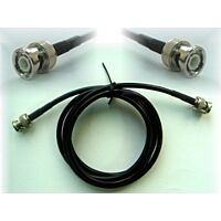 Coaxial Cable BNC RG58 50 Ohm - Male / Male 1,0m