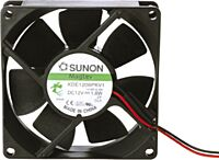 SUNON EE80251B3-999 - 12V FAN 80X80X25 Ball bearing