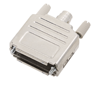 ENCITECH DPPK-M-25 - 25 Pin D Sub Connector housing Metalized