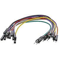 MIKROELEKTRONIKA 791-6454YE - Jumper cable male to female