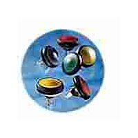 APEM IFS3Z1AD200 - SEALED MOM PUSHBUTTON 25MM BLACK