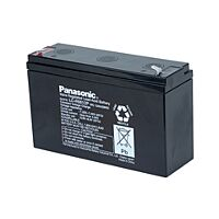 PANASONIC LC-R0612P - LEAD BATTERY 6V 12Ah 6-9 YEARS
