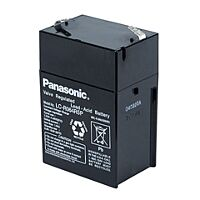 PANASONIC LC-R064R5P - LEAD BATTERY 6V 4,5Ah 6-9 YEARS