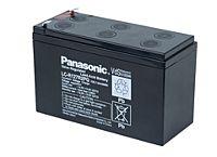 PANASONIC LC-R127R2PG1 - LEAD BATT. 12V 7,2Ah 6-9Y WIDE CON.