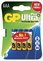 GP BATTERIES LR03 ULTRA PLUS - Alkaliparisto LR03 AAA ULTRA PLUS
