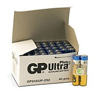 GP BATTERIES LR03 ULTRA PLUS BULK - Alkaliparisto LR03 AAA ULTRA PLUS