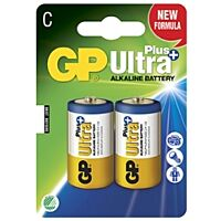 GP BATTERIES LR14 ULTRA PLUS - Alkaliparisto LR14 C ULTRA PLUS