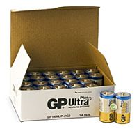 GP BATTERIES LR14 ULTRA PLUS BULK - Alkaliparisto LR14 C ULTRA PLUS