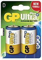 GP BATTERIES LR20 ULTRA PLUS - Alkaliparisto LR20 D ULTRA PLUS