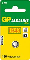 GP BATTERIES LR43-GP - Alkaliparisto LR43 1,5V