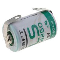 SAFT LS14250CNR - LITHIUM BATTERY 1/2AA 3.6V 1.2Ah