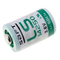 SAFT LS14250 - LITHIUM BATTERY 1/2AA 3.6V 1200mAh